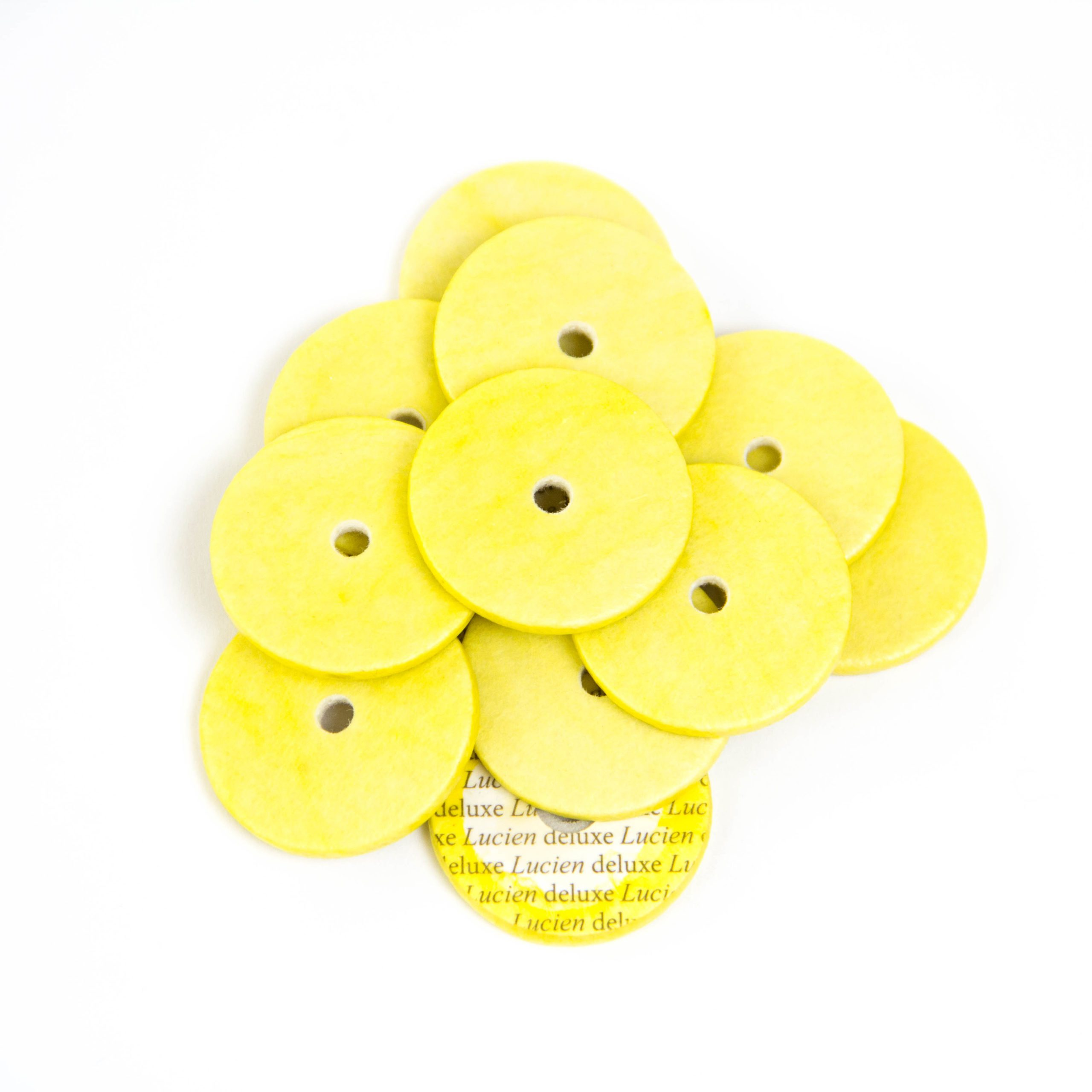 Lucien Deluxe AltoBass Flute Pads Yellow