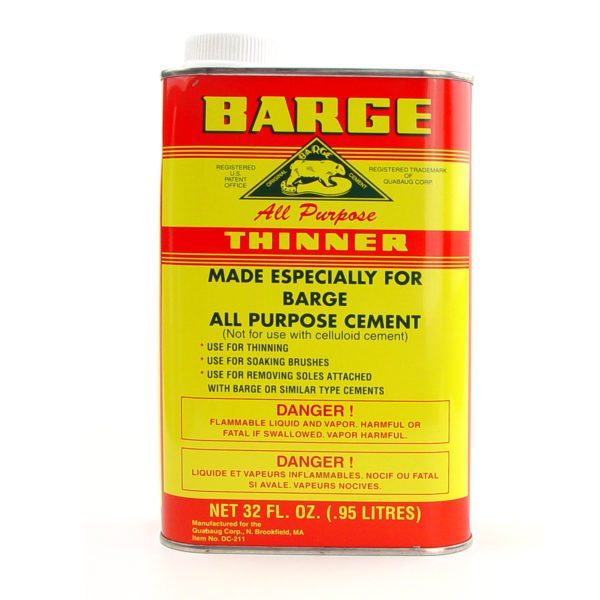 barge cement thinner qt can