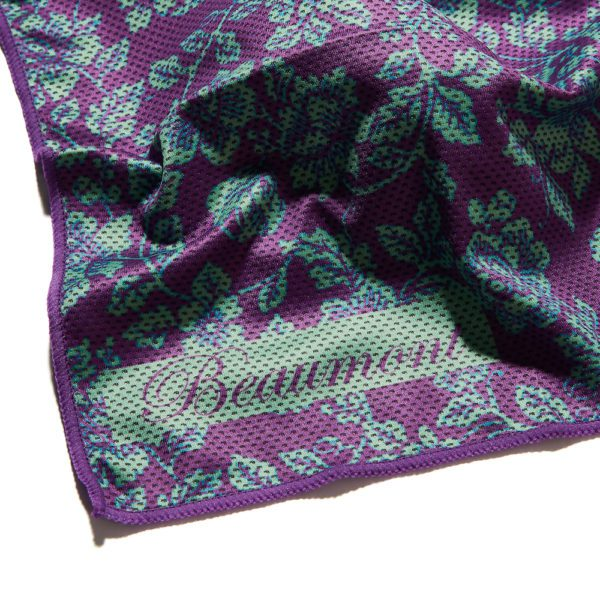 beaumont 2525 bamboo flute swab violet lace