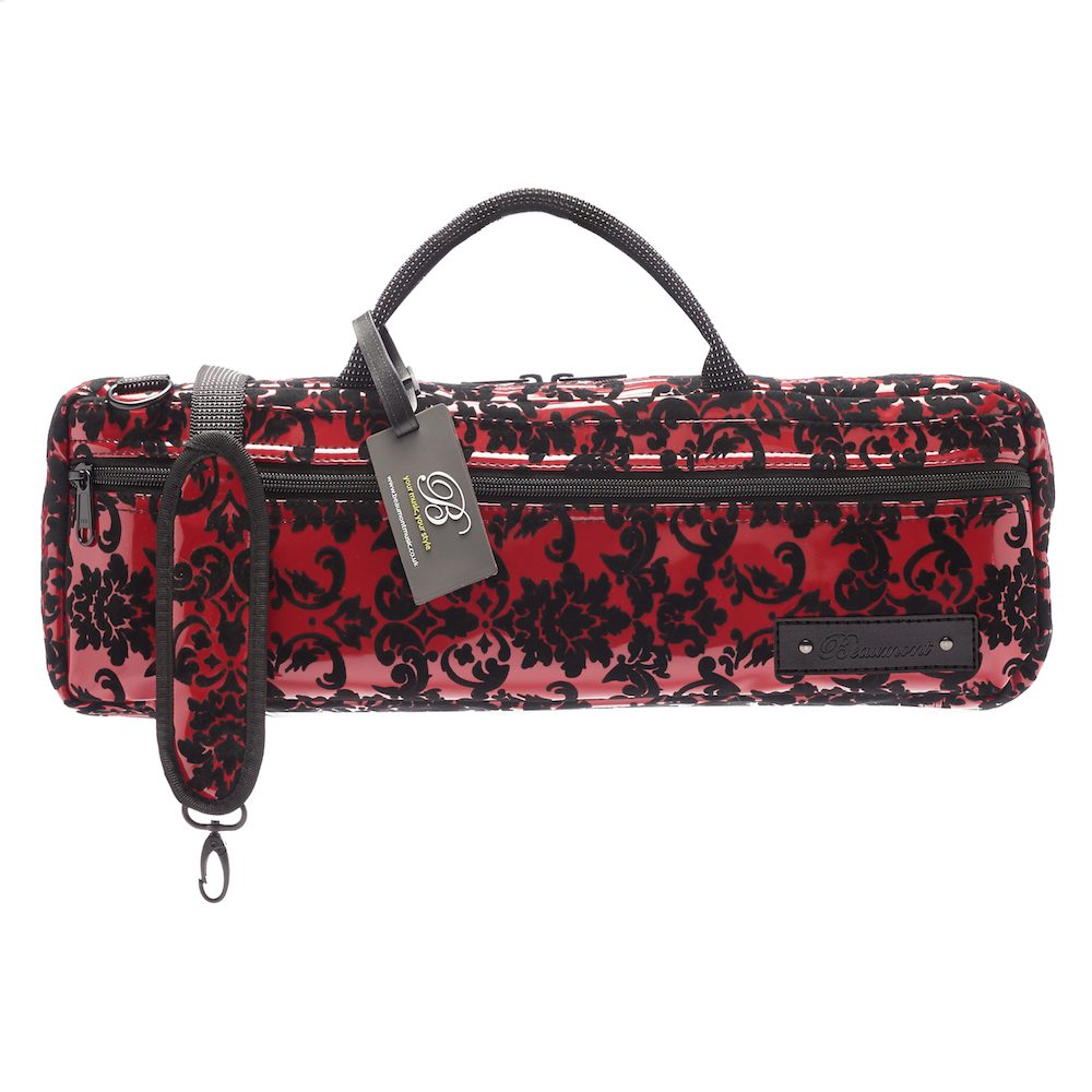 beaumont b foot flute carry bag