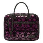 beaumont clarinetoboe carry case purple lace 3