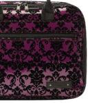 beaumont clarinetoboe carry case purple lace 5