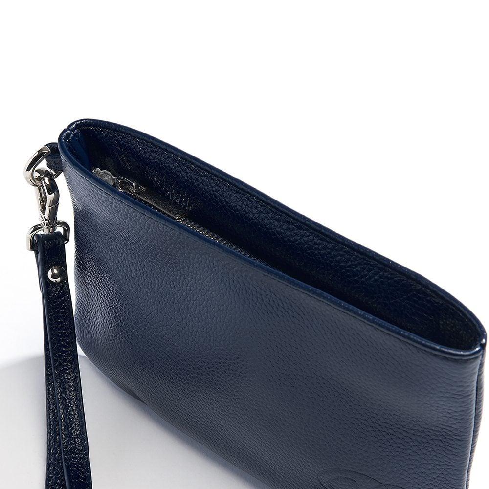 beaumont flutepiccolo leather handbag la parisienne navy 11