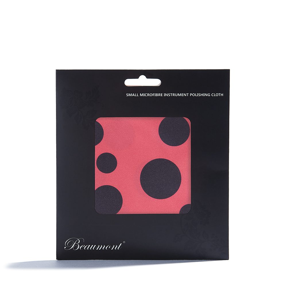 beaumont microfibre flute cleaning cloth ladybird 2