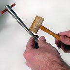 brass mouthpiece shank dent tool 10