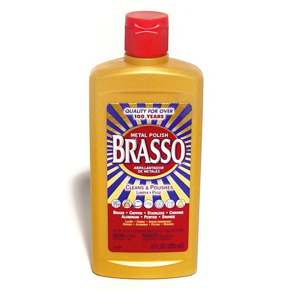 brasso metal polish 8 oz