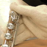 cotton string knit gloves large 1
