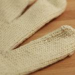 cotton string knit gloves large 2