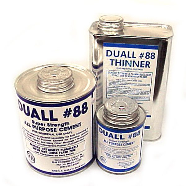 duall 88 contact cement quart