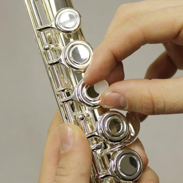 french open hole flute plug med set 4