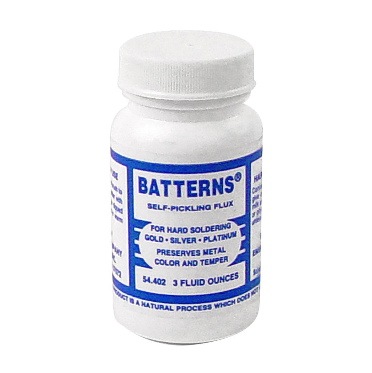 hard solder batterns flux 3 oz