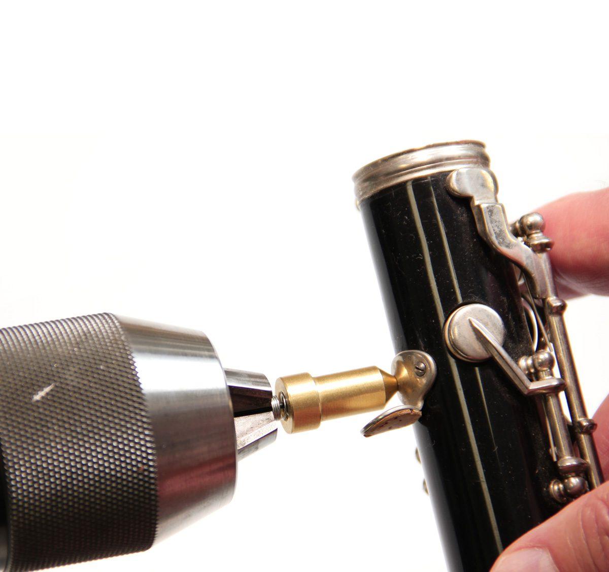 jls clarinet thumb rest drill pilot 1