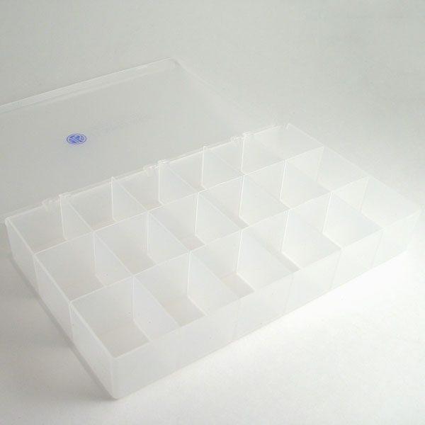 jls logo 18 compartment box 7 x 11