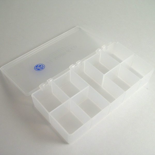 jls logo 9 compartment box 4 x 7
