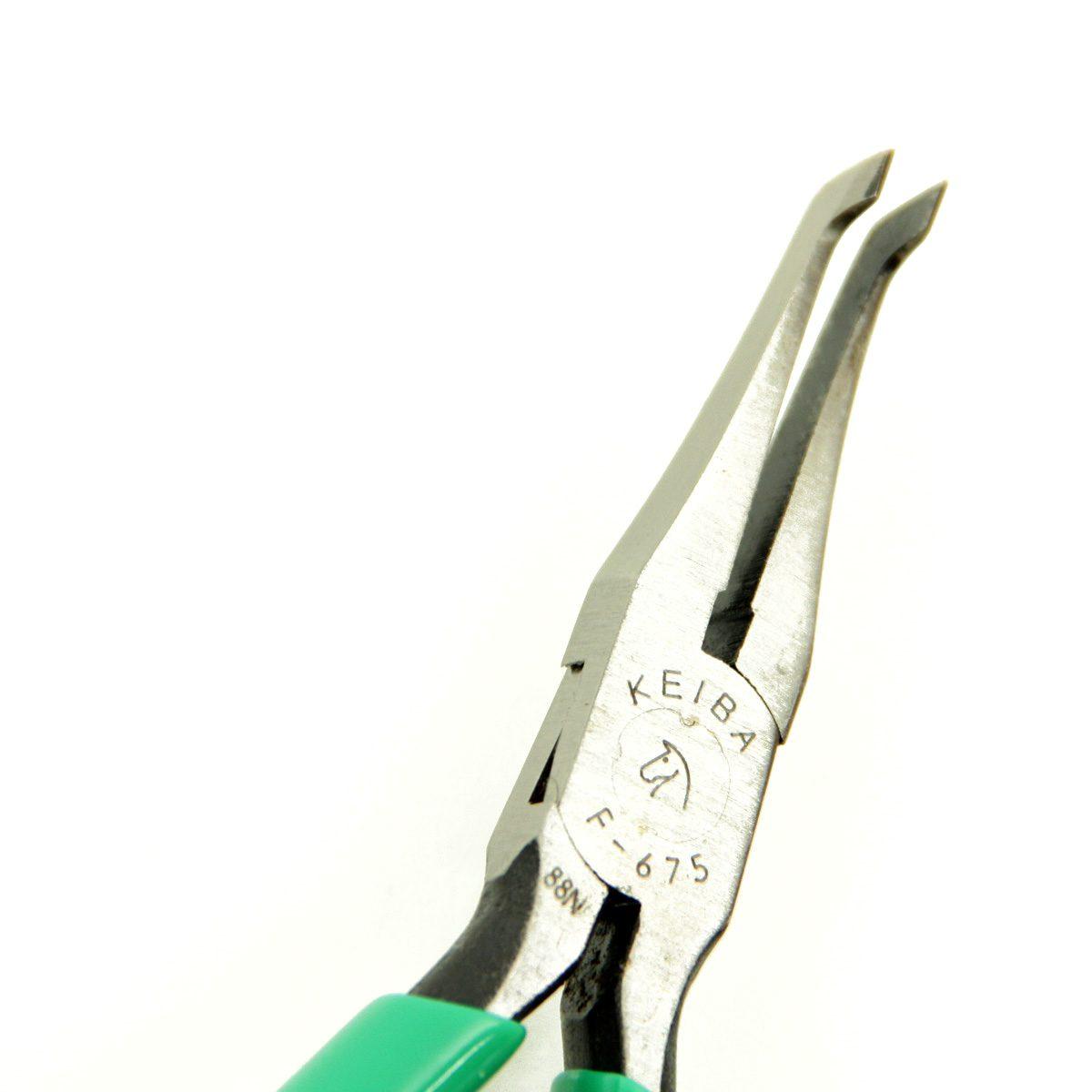 keiba flat bent nose pliers 1