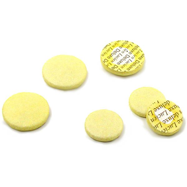 lucien deluxe altobass flute pads yellow wo center hole