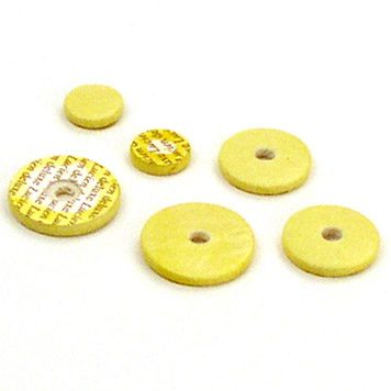 lucien deluxe flute pads yellow