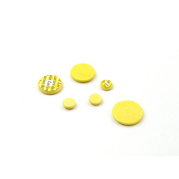 lucien deluxe piccolooboe pads yellow