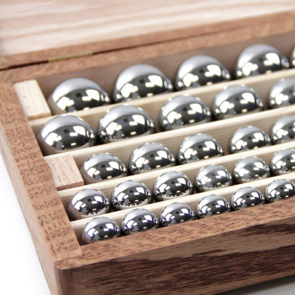 mdrs ball set b 8 solid chrome steel wcase