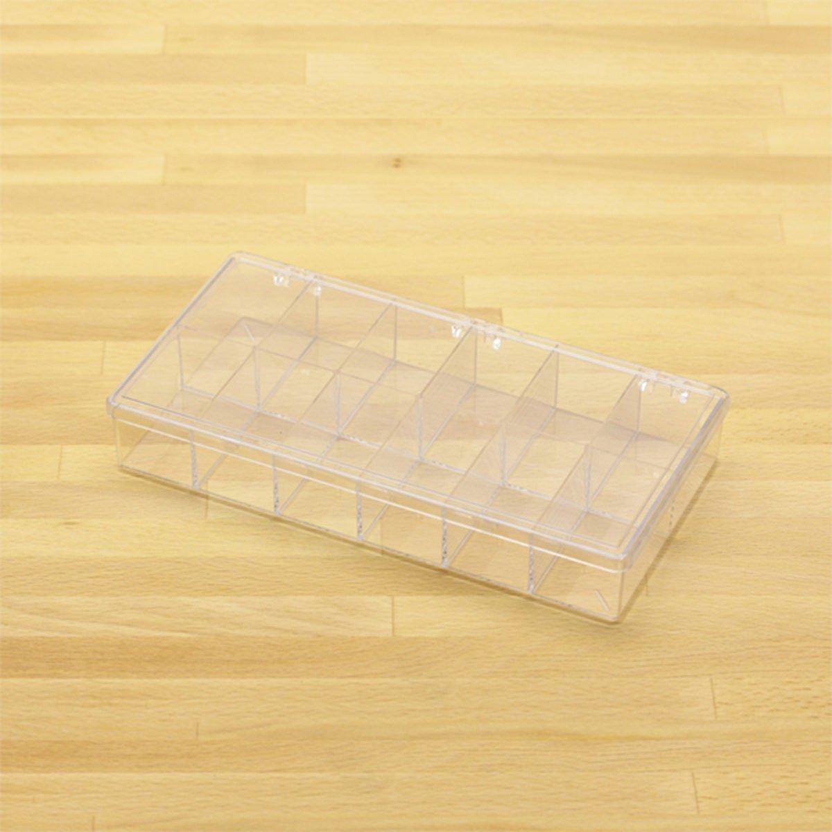 plastic box w 12 comp