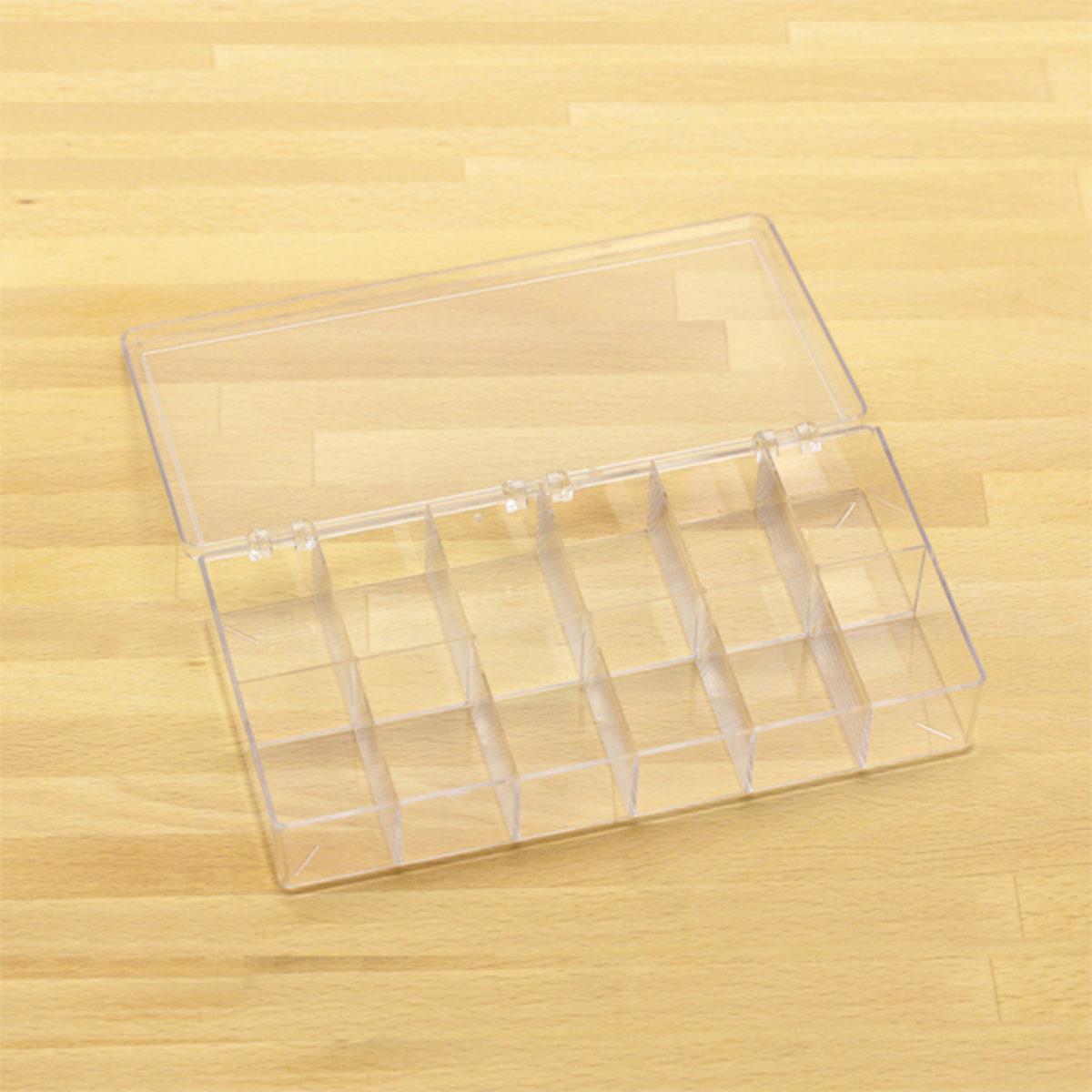 plastic box w 12 comp 2