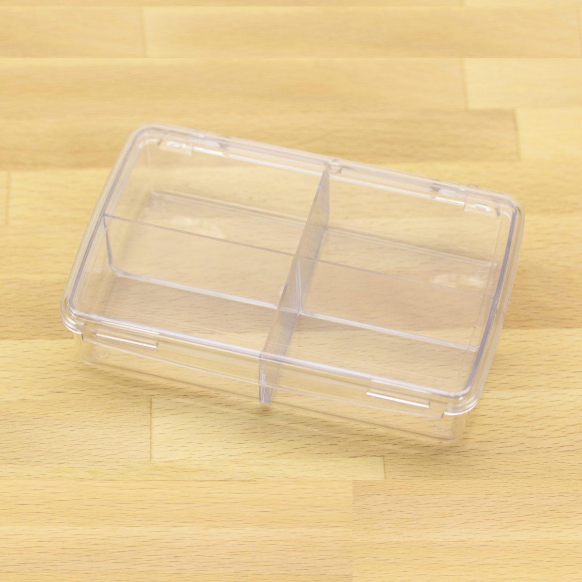plastic box w 4 comp 1