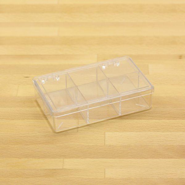 plastic box w 6 comp 1