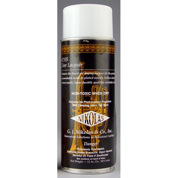 spray can lacquer 12 oz 2105 clear