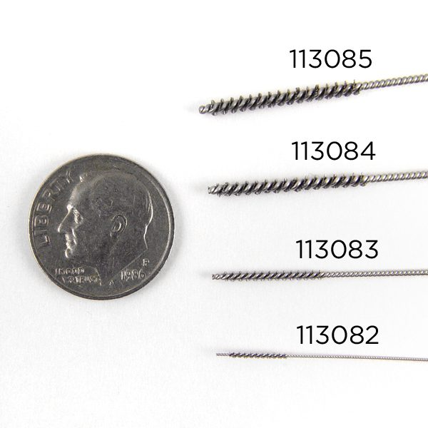 stainless micro tube brush