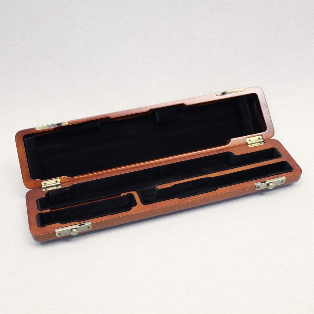 valentino hardwood case for c foot flute