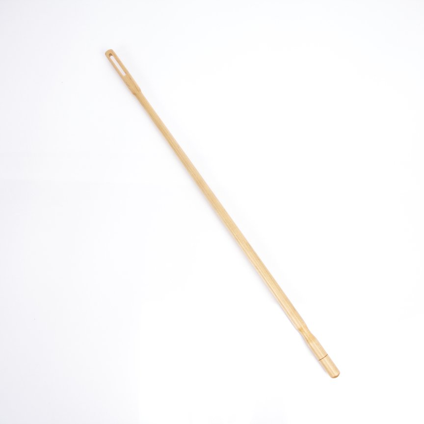 valentino natural finish maple cleaning rod alto flute