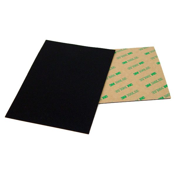 valentino quiet black sheet adhesive 116