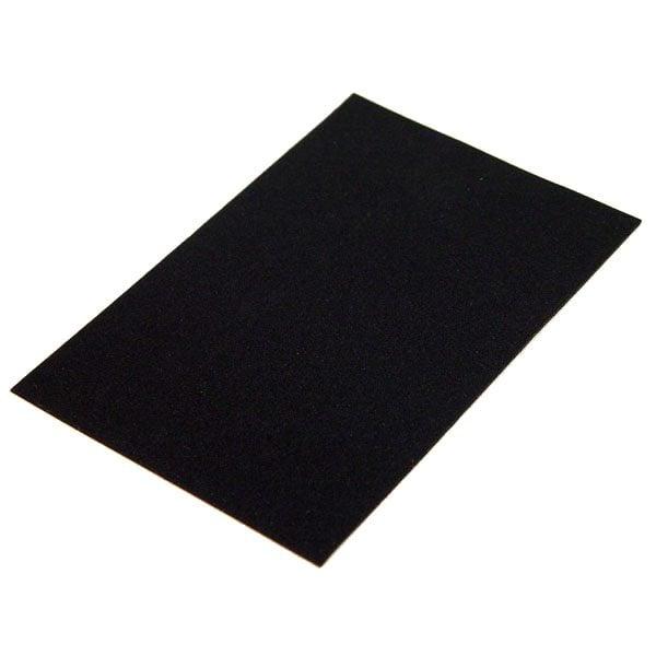 valentino quiet black sheet no adhesive 116