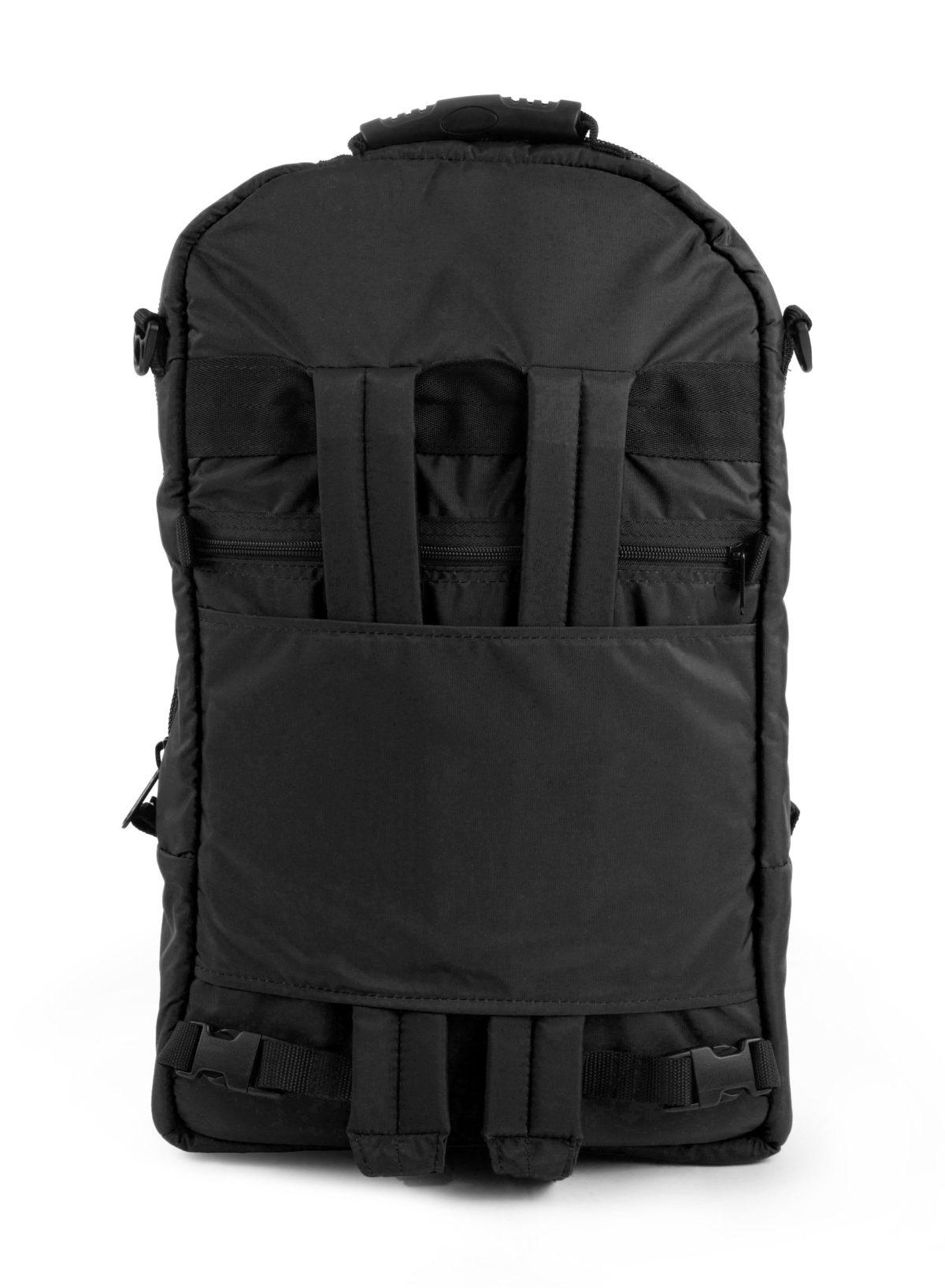 Altieri Alto Flute Backpack Back View AFBP 00 BK000
