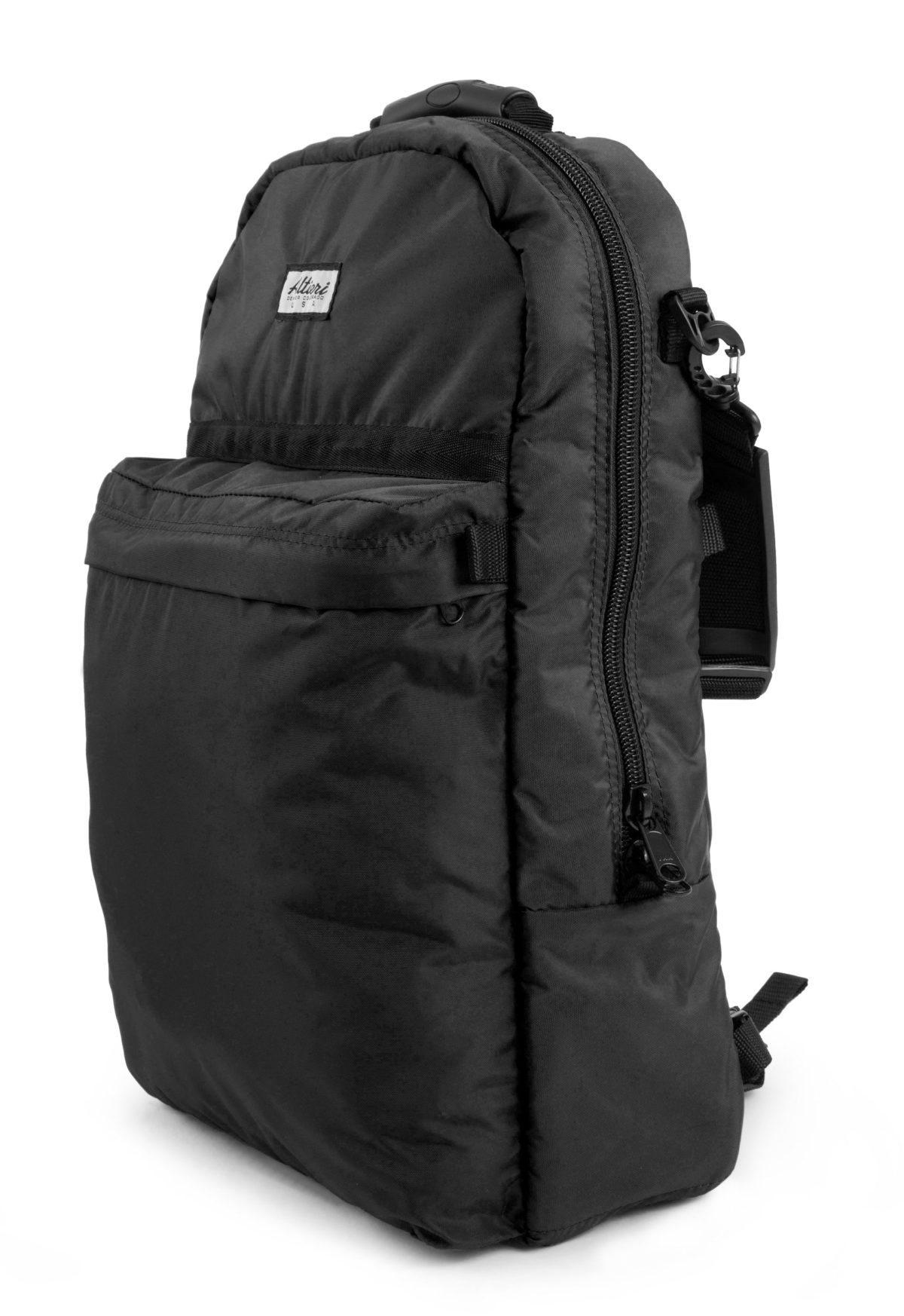 Altieri Alto Flute Backpack Side View AFBP 00 BK000