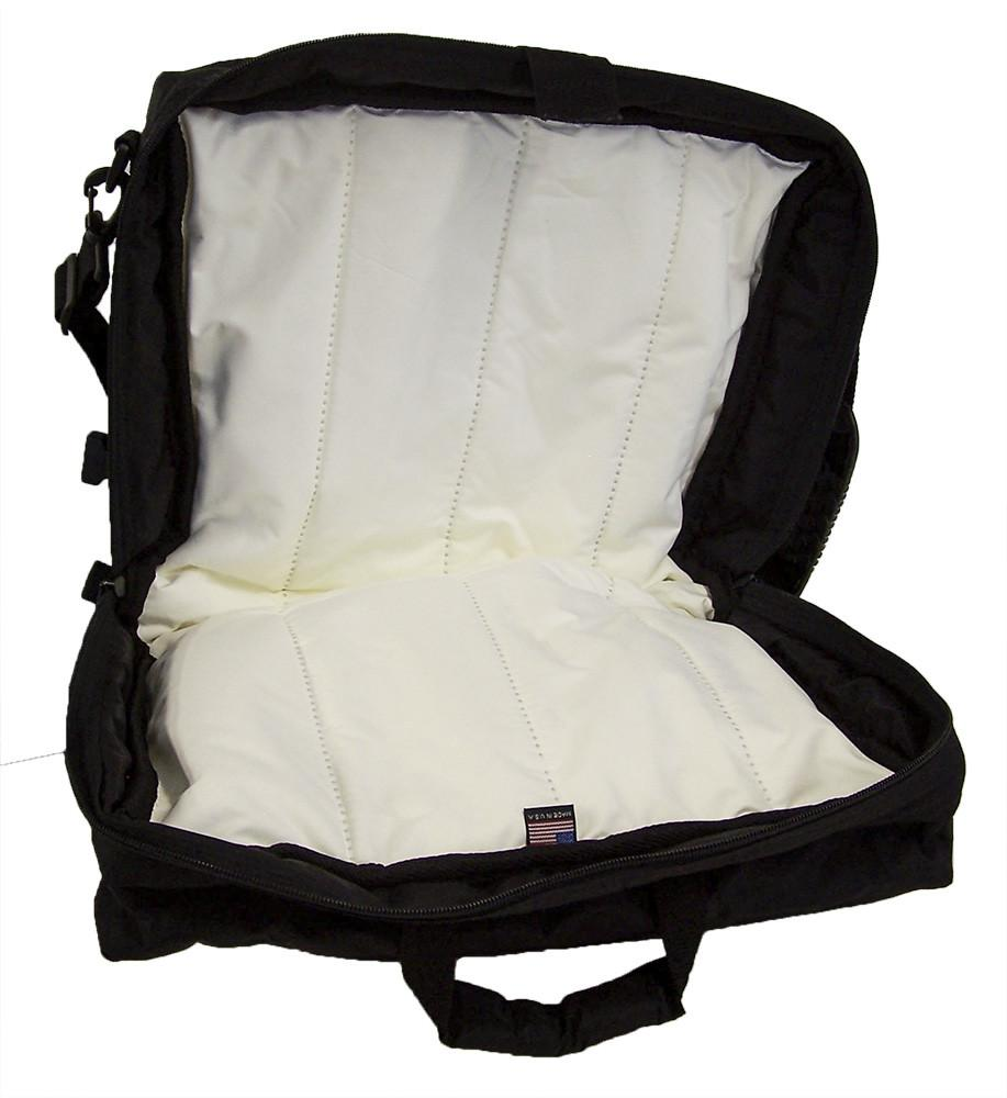 Altieri Clarinet Double Case with Double Pocket Inside View CLDP DB