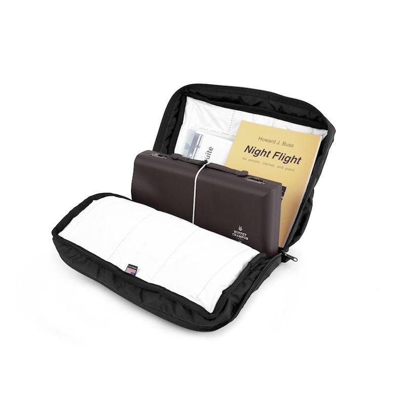 Altieri Single Clarinet Traveler Bag Inside View CLTV 00