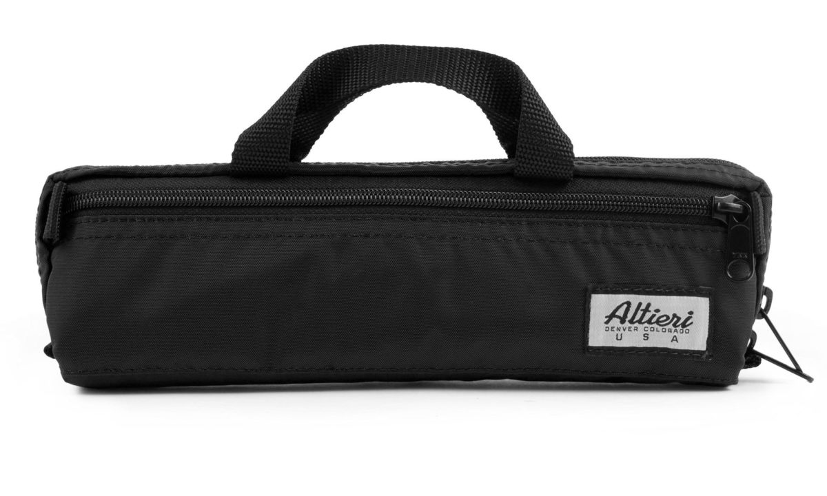 Altieri Yamaha Piccolo Casecover Front View PICC YA BK000