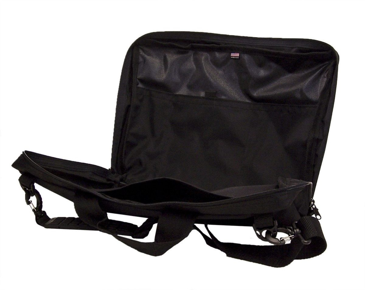 Altieri Conductor Briefcase Bags Accessories Handbags Inside View AYTV 00 BK000