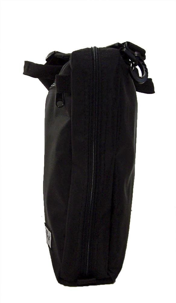 Altieri Conductor Briefcase Bags Accessories Handbags Side View AYTV 00 BK000