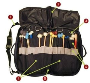 Altieri Drumstick Mallet Percussion Accessory Bag Large