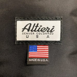 Altieri Logo Patch Label
